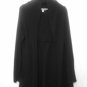 New York & Co Ribbed Open Front Cardigan